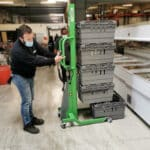 GM-Trays – Handling Stacker for Trays weighing 80 to 600 kg