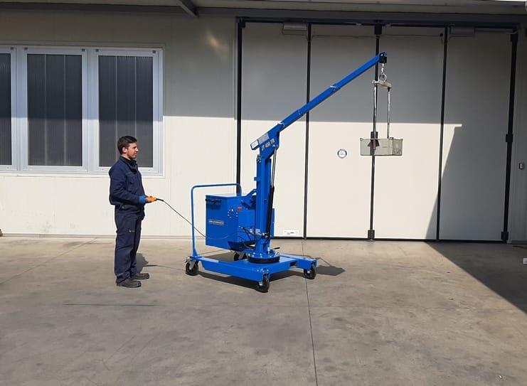 Mini crane JT400_TR with rotation