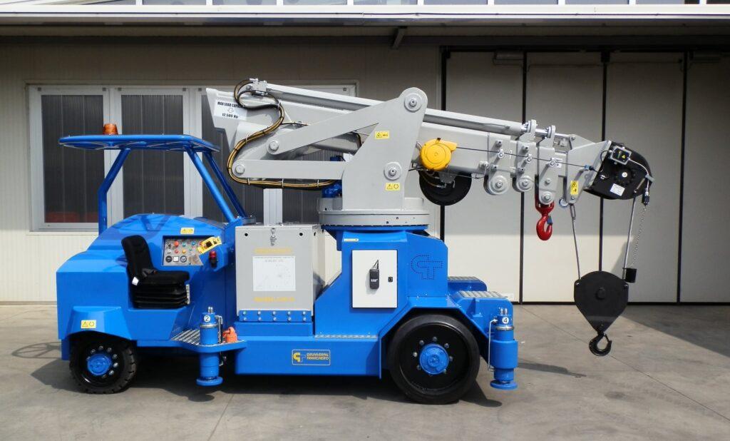 Mini crane MINIDREL 125B_TRS