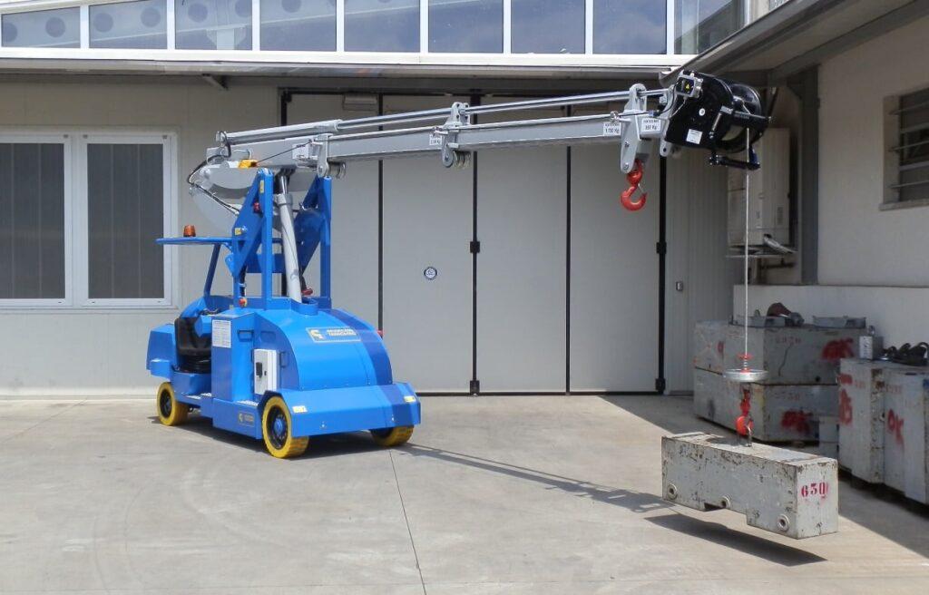 Mini crane MINIDREL 65B_WVR