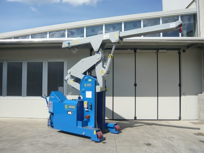 Mini crane MINIDREL 75S_ARR
